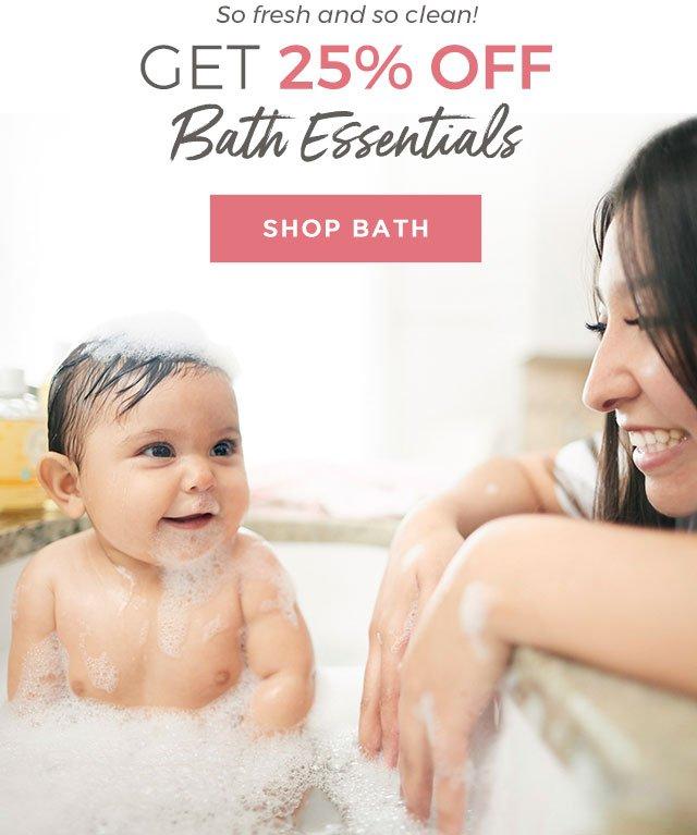 Bathtime Essentials
