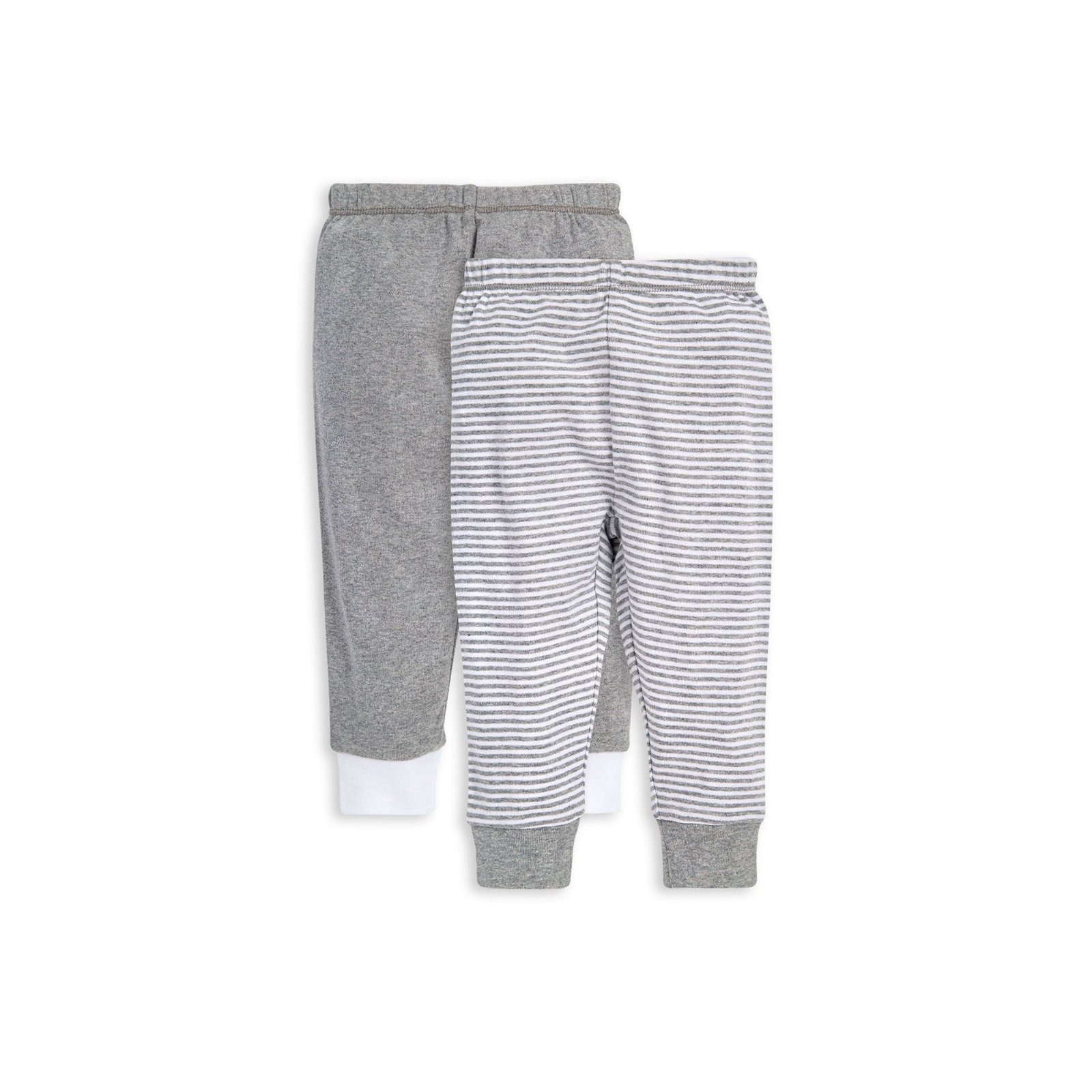 Classic Stripe Organic Baby 2 Pack Footless Pants