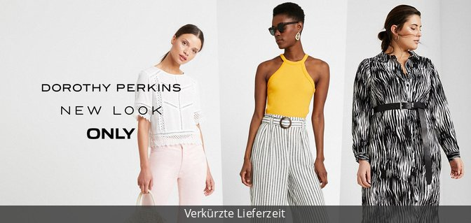 Special Sizes by Dorothey Perkins, New Look, ONLY