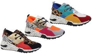 Yoki Clint Women's Color-Block Fashion Sneakers