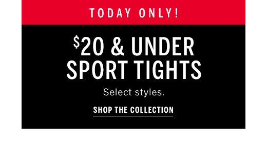 $20 sport tights and shop now