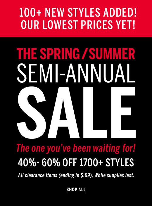 Semi-Annual Sale shop all