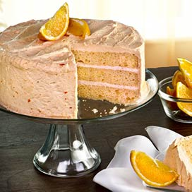 Creamsicle Layer Cake