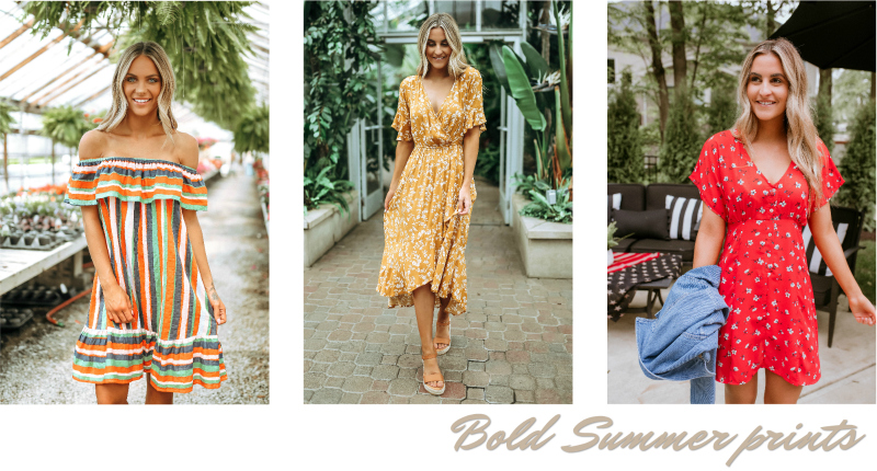 bold summer prints