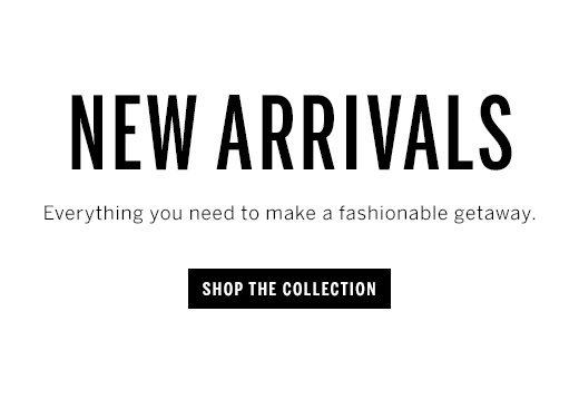 New arrivals and shop collection