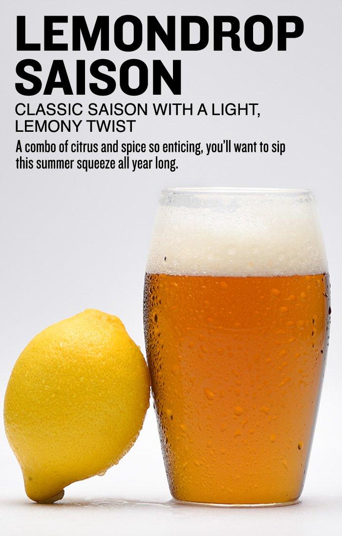 Lemondrop Saison Beer Recipe Kit