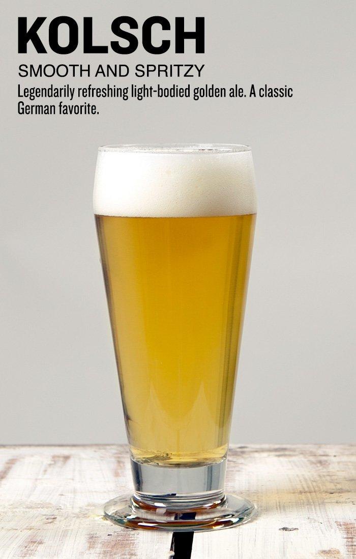 Kolsch Beer Recipe Kit