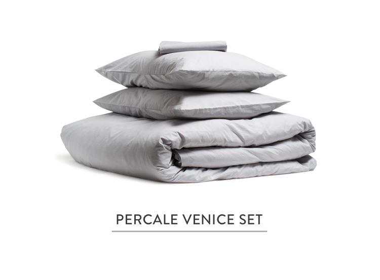 Percale Venice Set