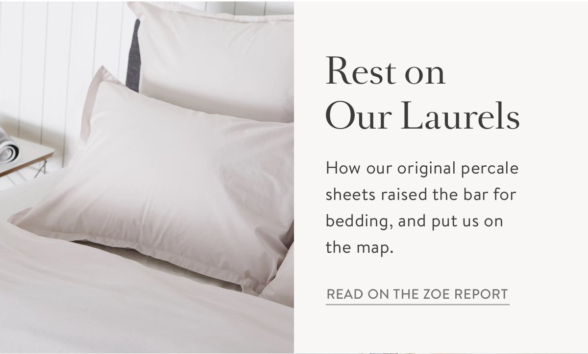 The Zoe Report Percale Sheets Review