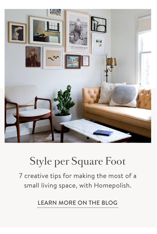 Design A Small Space