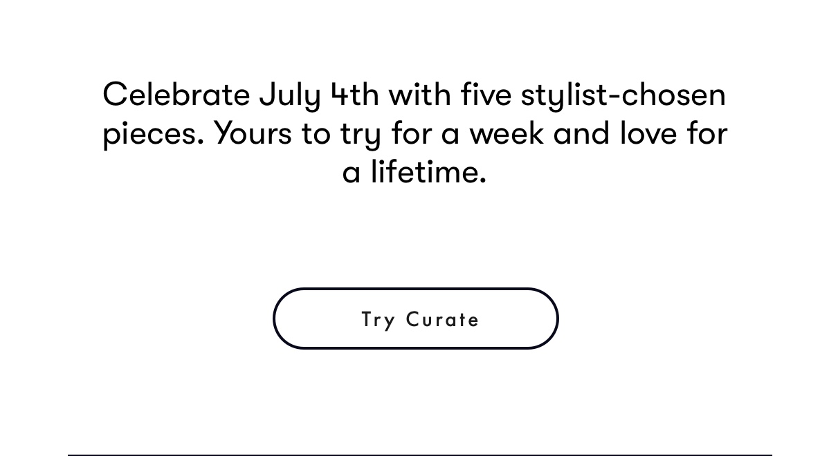 Try Curate
