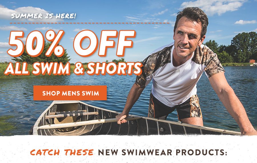50% Off All Swim & Shorts