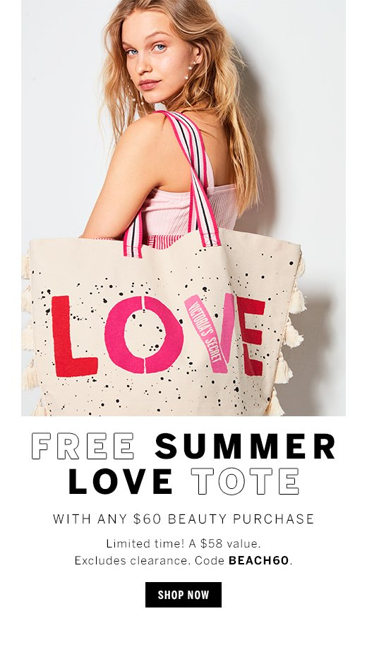 Free Summer Love Tote