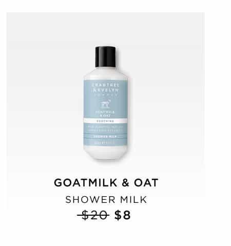 Goatmilk & Oat Shower Milk