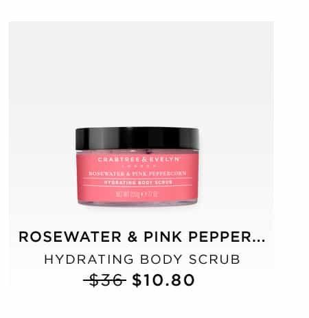 Rosewater & Pink Peppercorn Hydrating Body Scrub