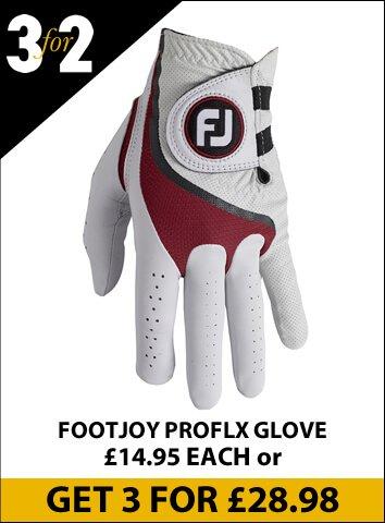ProFLX White/Red