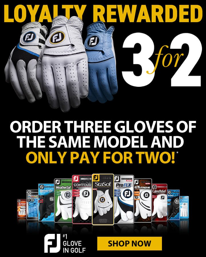 FootJoy 3 For 2 On Gloves - Shop Now