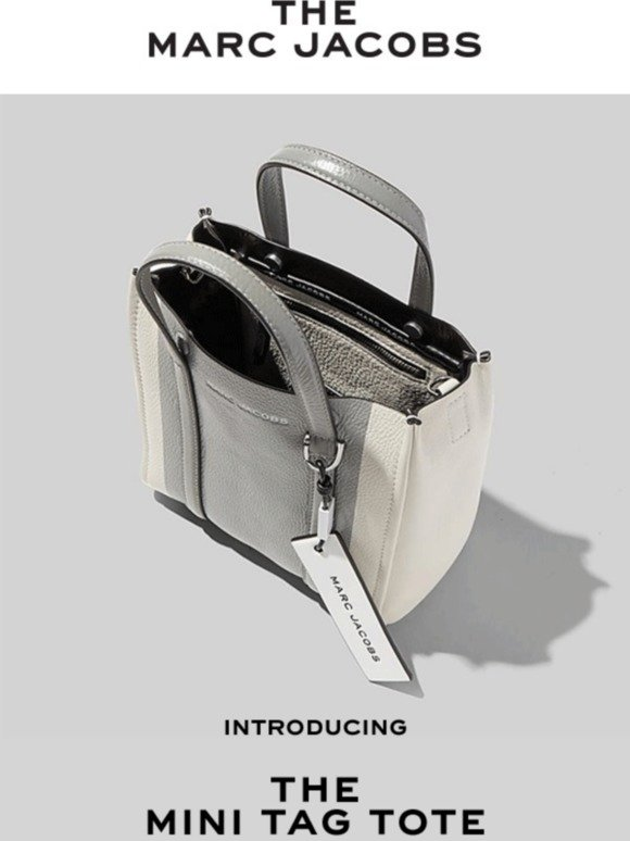 Marc Jacobs: Introducing THE Mini Tag Tote | Milled