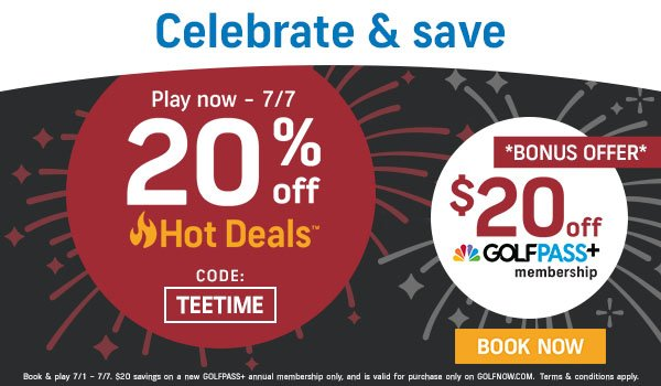 GOLFNOW JULY PROMO CODE