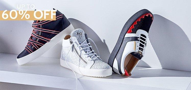 Giuseppe Zanotti & More Men's Luxe Shoes