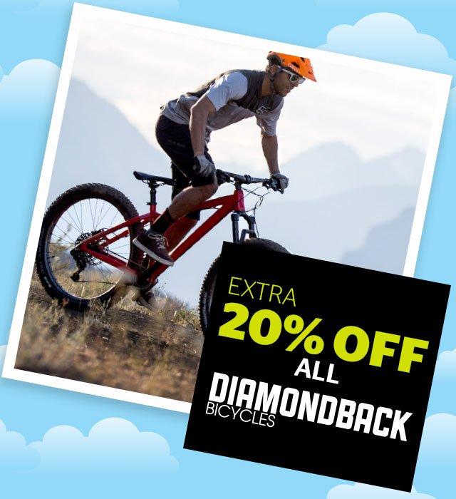 Extra 20% off all Diamondback