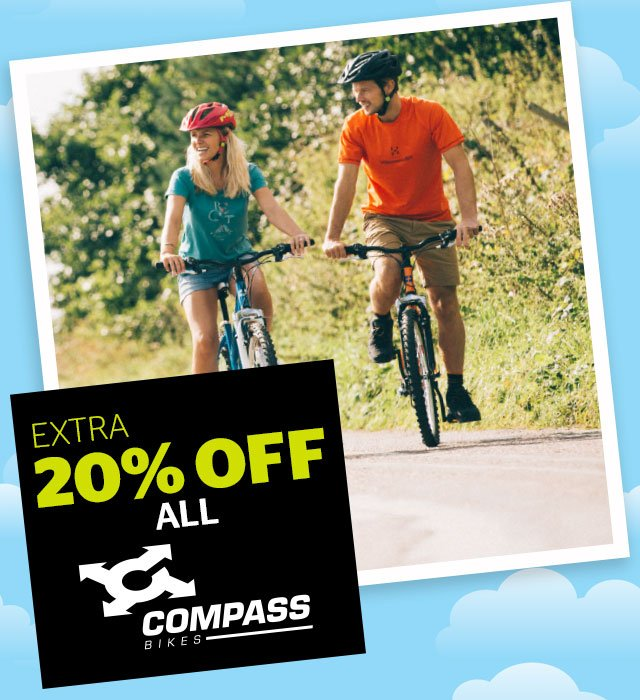 Extra 20% off all Compass