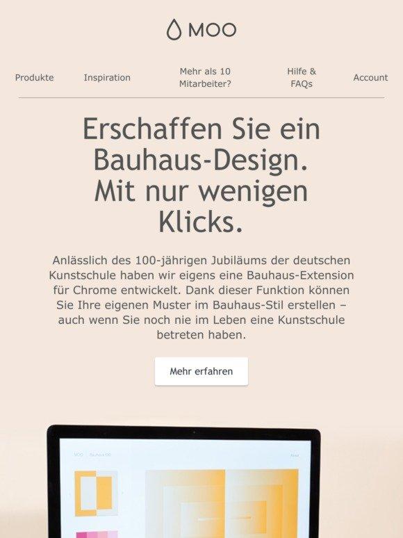 Moo Com Werden Sie Kreativ Mit Unserem Bauhaus Tool Milled