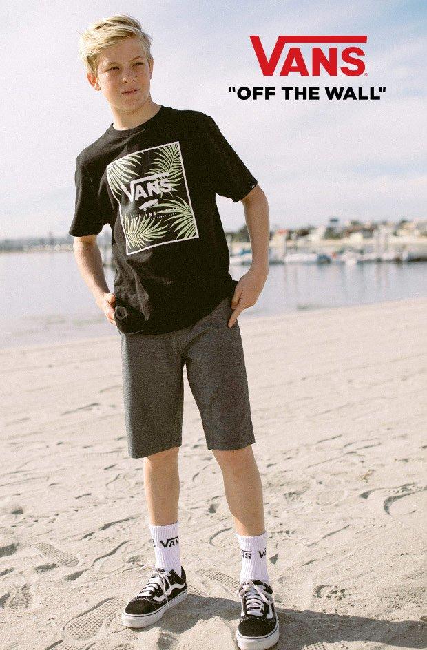 vans boy