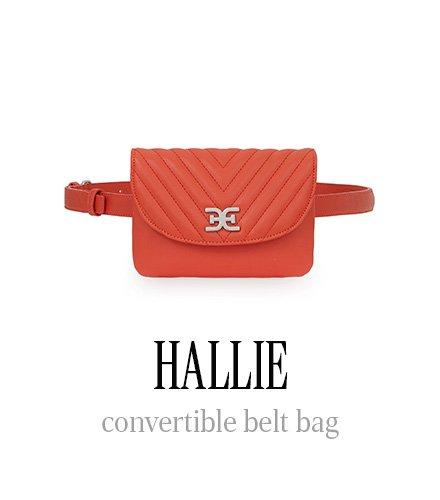 HALLIE convertible belt bag