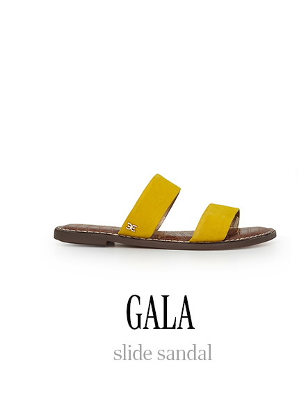 GALA slide sandal