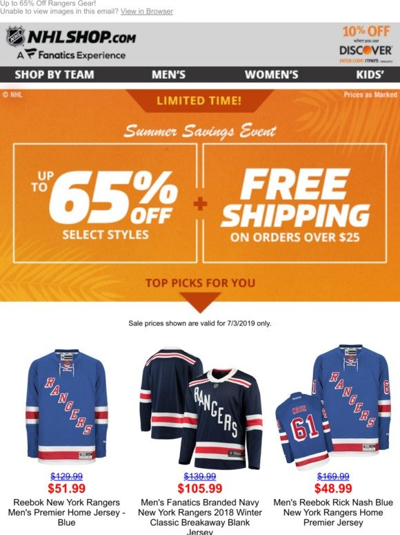 38d82e76 Shop.NHL.com: Top Picks for You to Save BIG >>> | Milled