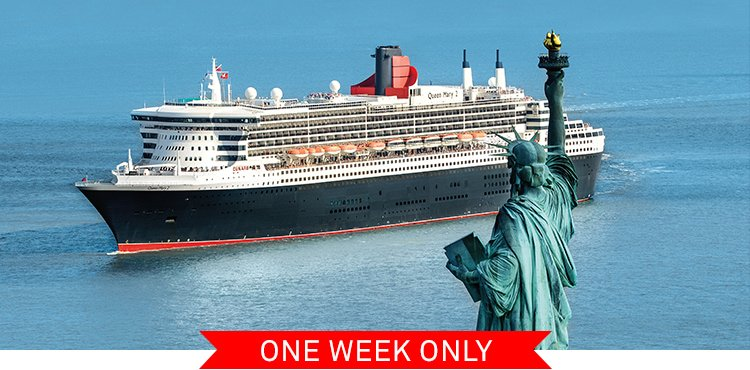 Cunard Cruises Book During Our Independence Day Sale And Receive Free Gratuities Low Fares And More Milled