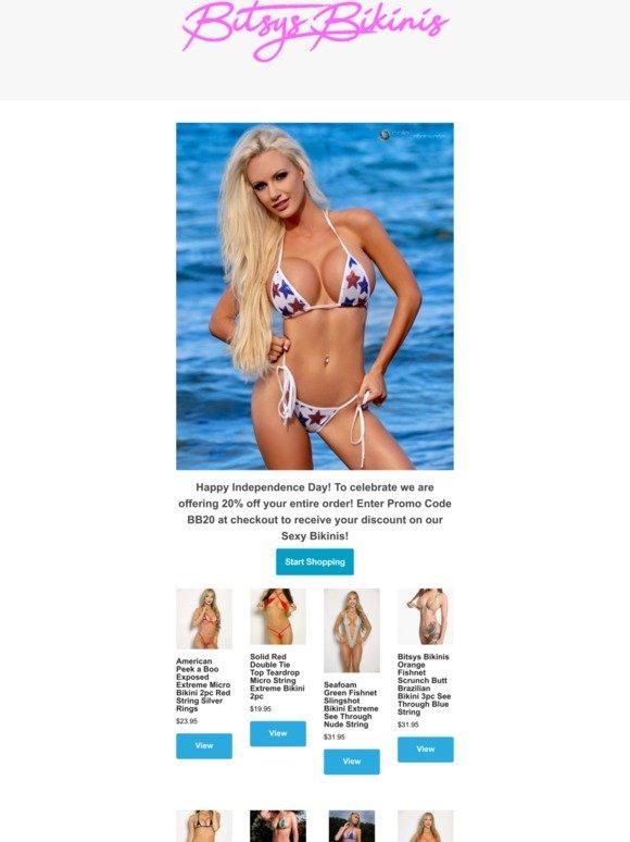 Extreme bikinis exposing