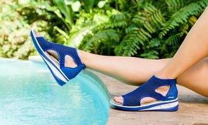 JSport by Jambu Nadine Knit Comfort Sandal