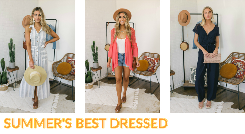 multi color summer outfits