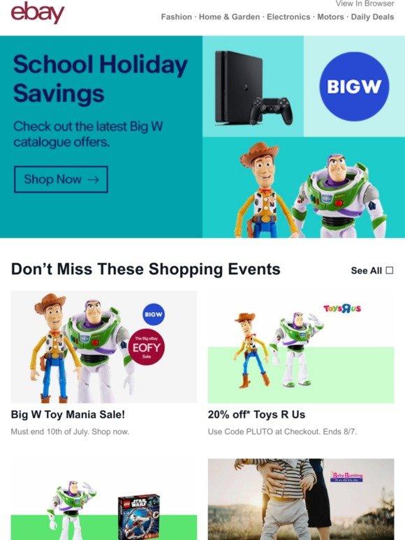 eBay AU: 🚨 Big W Toy Mania Sale is on now | Milled
