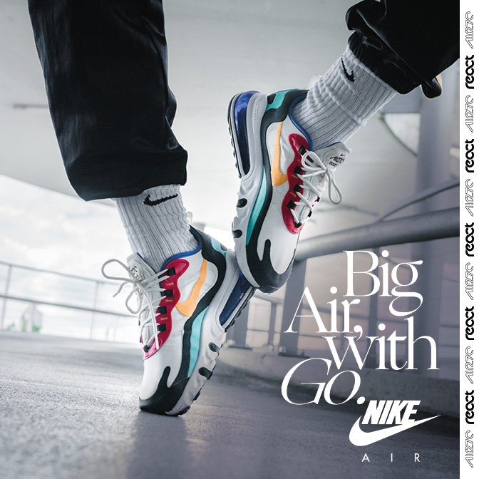 Snipes AT: ??Hot Release: NIKE Air Max 270 React | Milled