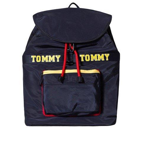 Tommy Hilfiger Navy Logo Backpack