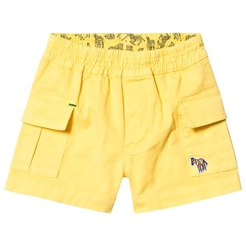 Paul Smith Junior Yellow Cargo Shorts