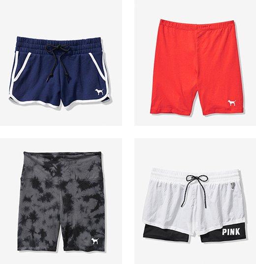 4 boxes of shorts rotating