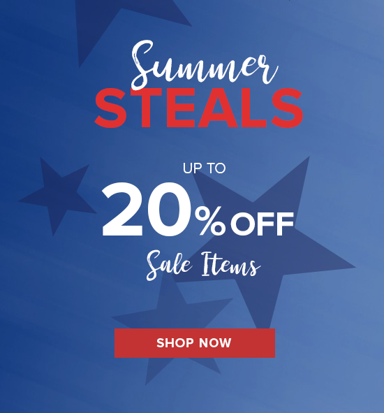 20% Off Sale Items 4th Of July Sale