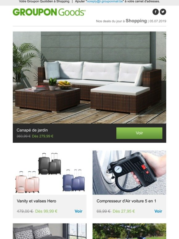 Groupon BE Email Newsletters: Shop Sales, Discounts, and ...