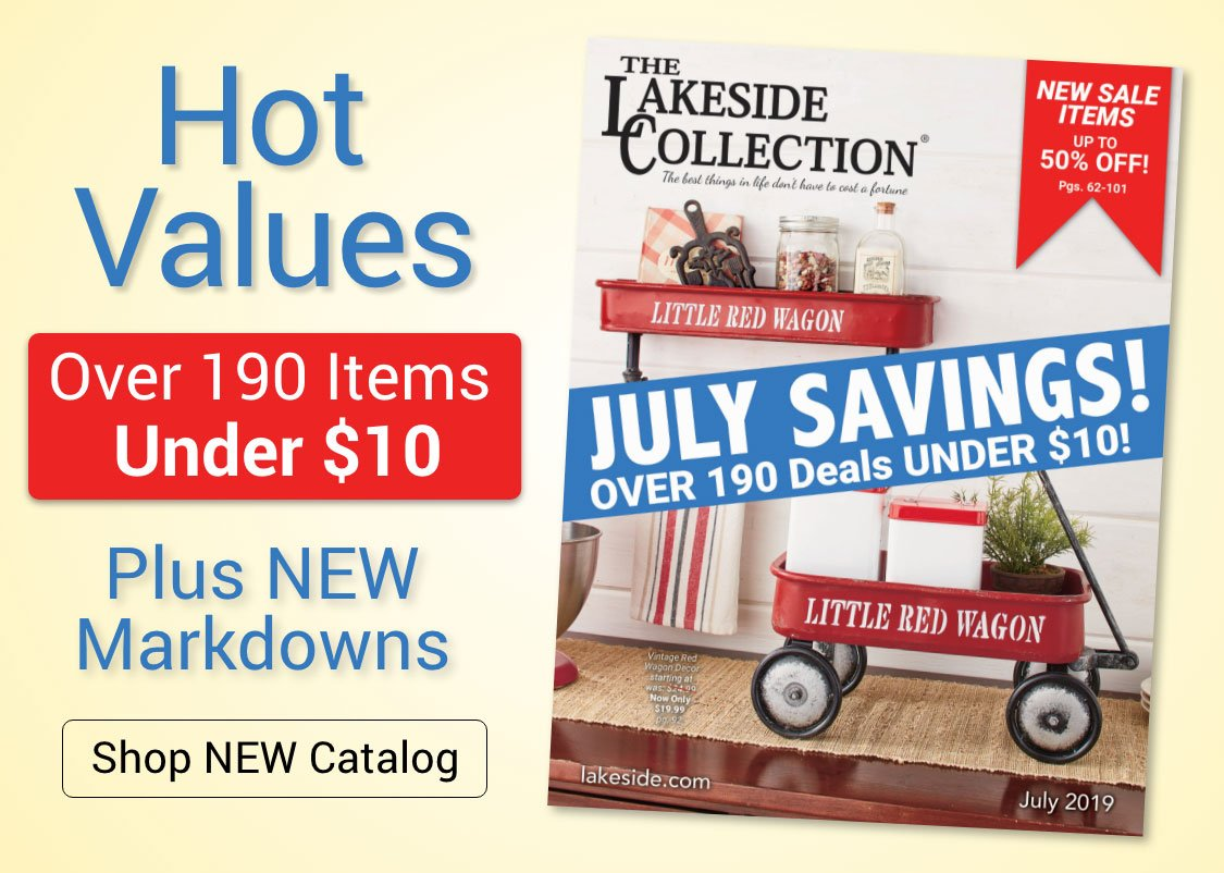 Lakeside Collection: Our July 2019 Catalog Is Here! | Milled