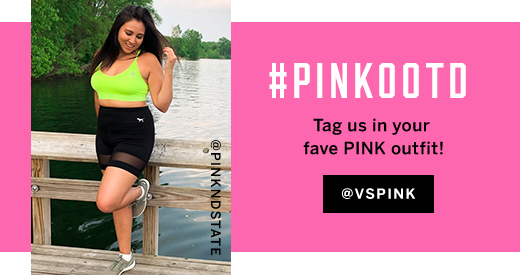 #PINKOOTD Tag us in your fave PINK outfit @VSPINK