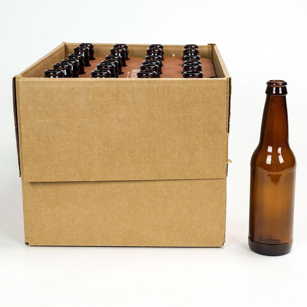 12 oz. Beer Bottles - 24 Pack