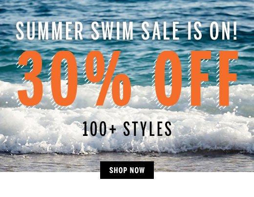 Summer Swim Sale 30% Off