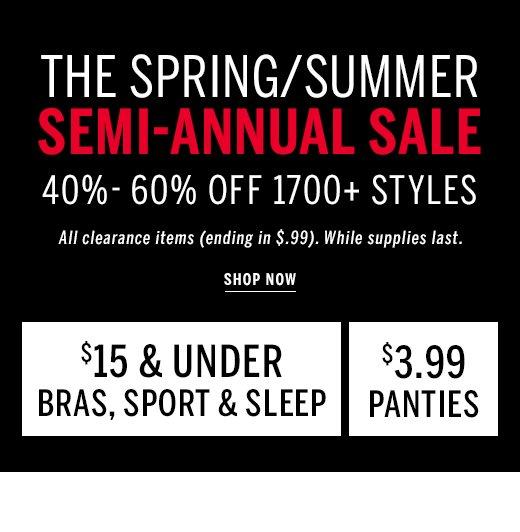 Semi Annual Sale 40%-60% Off