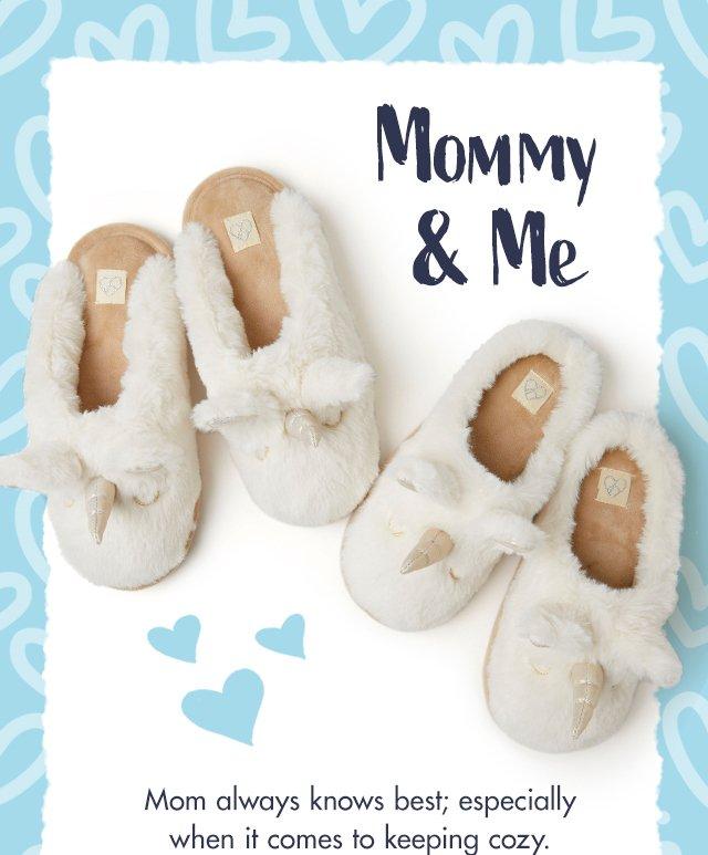 Dearfoams: Matching Mommy \u0026 Me Slippers