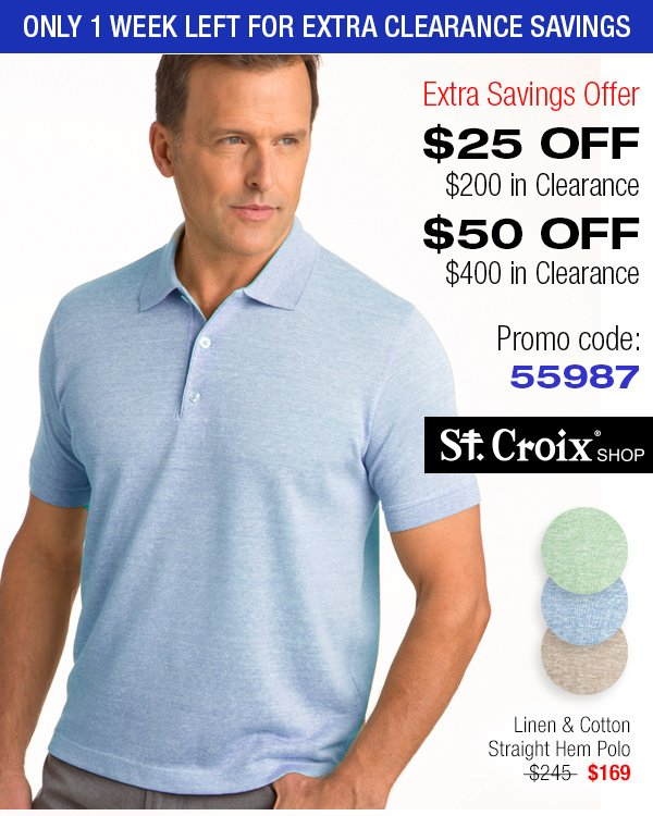 Lightweight Linen and Cotton Polo - Style 3697