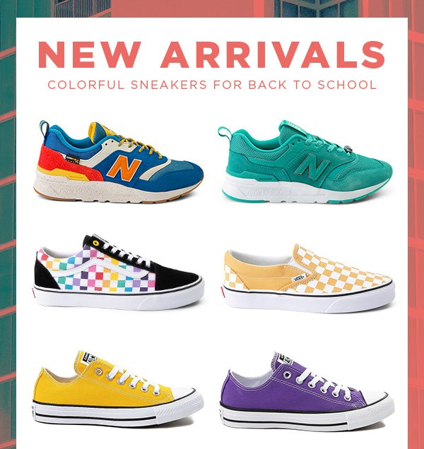 Colorful Sneaker Styles